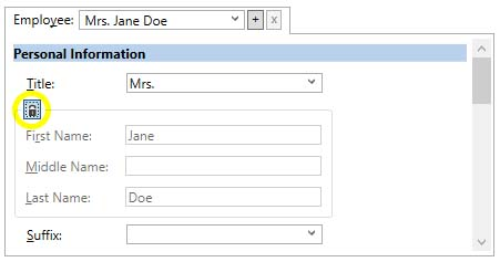 how to change first name