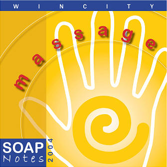 WinCity Massage Soap Notes 2004 Front CD Case Cover